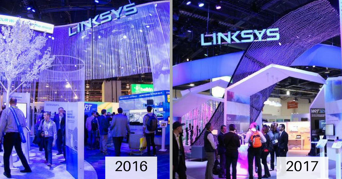 Linksys at CES