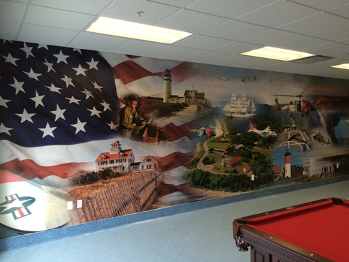 Large Format Print: USCG Station