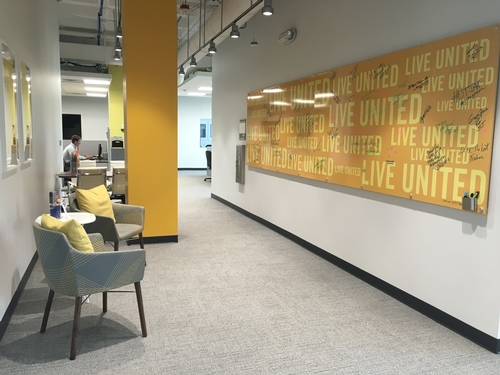 Branded Environments: United Way