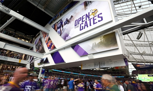 Branded Environments: US Bank Stadium
